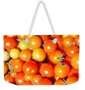 Cherry Tomatoes Weekender Tote Bag