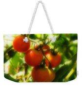Cherry Tomatoes On The Vine Weekender Tote Bag