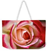 Cherry Vanilla Rose Weekender Tote Bag