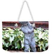 Cherub At The Pond Weekender Tote Bag