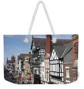Chester City Skyline Weekender Tote Bag