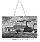 Chester Rolling Mill Weekender Tote Bag