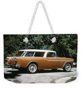 Chevrolet, 1957 Weekender Tote Bag