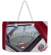 Chevrolet 3100 Truck Speedometer Weekender Tote Bag
