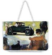 Chevrolet Ad, 1927 Weekender Tote Bag