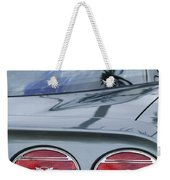 Chevrolet Corvette Tail Light Weekender Tote Bag