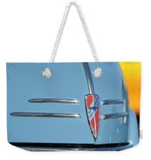 Chevrolet Hood Emblem 2 Weekender Tote Bag