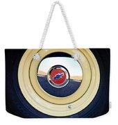 Chevrolet Wheel Emblem Weekender Tote Bag