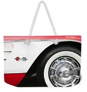 Chevrolette Corvette Sting Ray Convertible Weekender Tote Bag