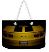 Chevy Camaro Covertible Rs Tail Weekender Tote Bag