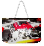 Chevy Camaro Engine Weekender Tote Bag