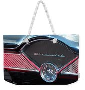 Chevy Dash Clock Weekender Tote Bag