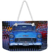 Chevy Front End Weekender Tote Bag