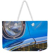 Chevy Headlight Weekender Tote Bag