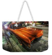 Chevy Impala Weekender Tote Bag