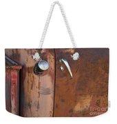 Chevy Truck Door Handle Detail Weekender Tote Bag