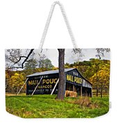 Chew Mail Pouch Painted Weekender Tote Bag
