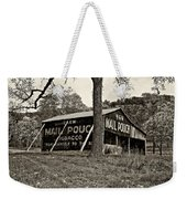 Chew Mail Pouch Sepia Weekender Tote Bag