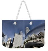 Chicago Cityscape The Bean Weekender Tote Bag