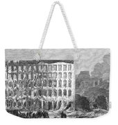 Chicago: Fire, 1868 Weekender Tote Bag