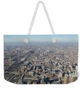 Chicago From The Top Of The Willis Tower Weekender Tote Bag