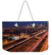 Chicago Illumina Weekender Tote Bag