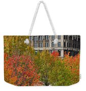 Chicago In Autumn Weekender Tote Bag