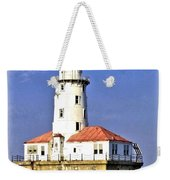 Chicago Lighthouse Weekender Tote Bag