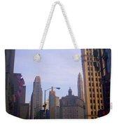 Chicago Scene Weekender Tote Bag