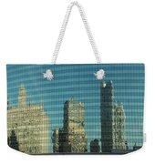 Chicago Window Reflections Weekender Tote Bag
