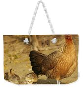 Chicken And Chicks Weekender Tote Bag