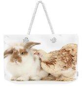 Chicken And Rabbit Weekender Tote Bag