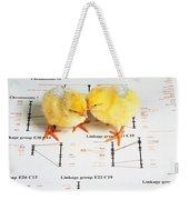 Chicken Genetics Weekender Tote Bag