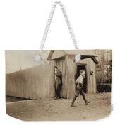 Child Goes To Work At Mill In Alabama - 1910 Weekender Tote Bag