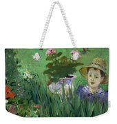 Child In The Flowers Weekender Tote Bag