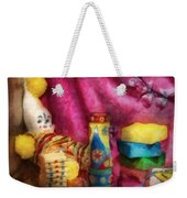 Children - Toy - Earliest Childhood Memories Weekender Tote Bag