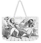 Children And Bat Weekender Tote Bag