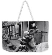Children In Agra In India Weekender Tote Bag