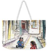 Children In Nicosia Weekender Tote Bag