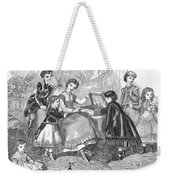 Childrens Fashion, 1868 Weekender Tote Bag