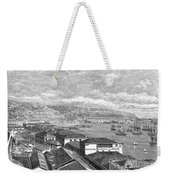 Chile: Valparaiso, 1865 Weekender Tote Bag