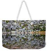 Chimney Pond Reflections Weekender Tote Bag