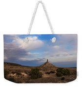 Chimney Rock On The Oregon Trail Weekender Tote Bag