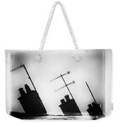 Chimneys Weekender Tote Bag by David Ridley