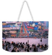 China Chengdu Morning Weekender Tote Bag by First Star Art