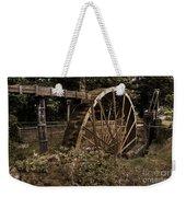 China Clay Waterwheel Weekender Tote Bag