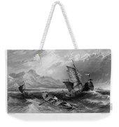 China: Gulf Of Bohai, 1843 Weekender Tote Bag