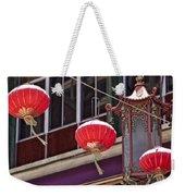 China Town San Francisco Weekender Tote Bag by Kelley King