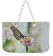 Chinese Butterfly Weekender Tote Bag