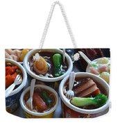 Chinese Food Miniatures 1 Weekender Tote Bag